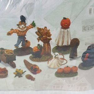 Dept 56 Harvest Decorations Seasons Bay Set of 12